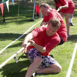 Tug of war competition