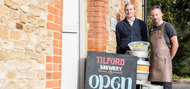 Supplier Spotlight: Tilford Brewery
